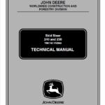 John Deere 240, 250 Skid-Steer Loader Technical Manual TM-1747