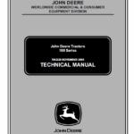 John Deere 100 series 102, 115, 125, 135, 145, 155C, 190C Lawn Tractor TM-2323cce
