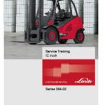Linde 394 Forklift Truck H-Series: H40, H45, H50 Service Manual