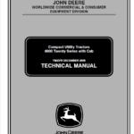 John Deere 4120, 4320, 4520, 4720 Compact Utility Tractor Technical Manual TM-2370