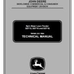 John Deere SST15, SST16, SST18 Lawn Tractor Technical Manual TM-1908
