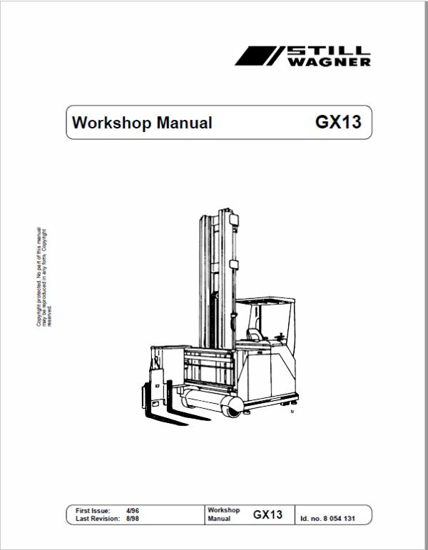 Still GX13 Manual