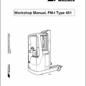 Still FM-I Type 451 Reach Truck