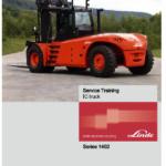 Linde Series 1402 IC Truck: H180, H200, H220, H250, H280, H300, H320 Service manual