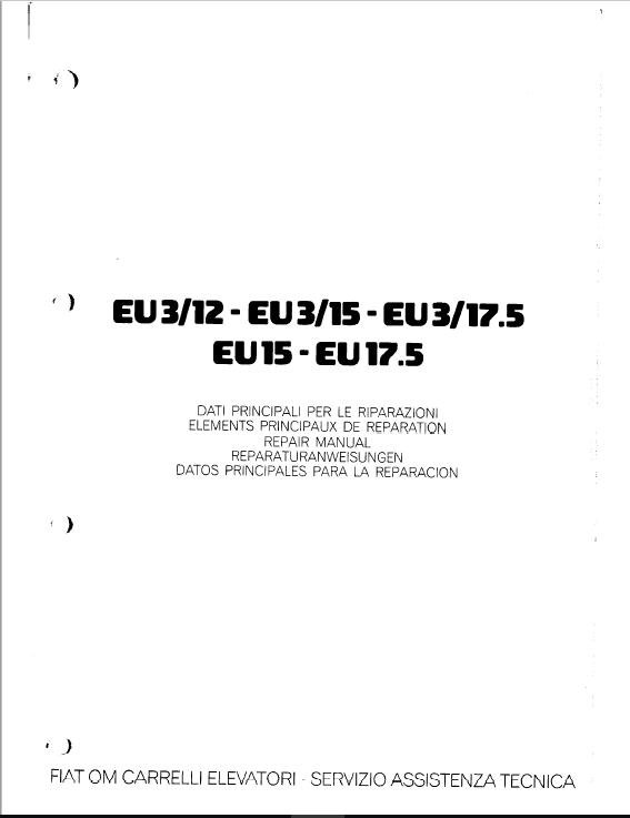 OM Pimespo EU3/12, EU3/15 and EU3/17.5