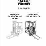 OM Pimespo XE12, XE15 and XE18 Series 4016 , 4017