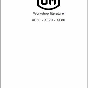 OM Pimespo XE35, XE40, XE45, XE50 Forklift Workshop Manual
