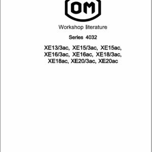 OM Pimespo XE 13/3ac, XE 15/3ac, XE 15ac, XE 16/3ac, XE 16ac, XE 18/3ac, XE18ac, XE20/3ac, XE20ac