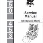 Bobcat 450 and 453 Skid-Steer Loader manual
