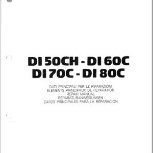 OM Pimespo DI50CH, DI60C, DI70C and DI80C