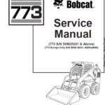 Bobcat 773 Skid-Steer Loader Manual