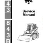 Bobcat 843 and 843B Skid-Steer Loader Manual