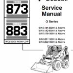 Bobcat 873 and 883 G-Series Skid-Steer Loader Manual