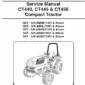 Bobcat CT440, CT445 and CT450 Compact service manual