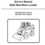 Bobcat S220 Skid-Steer Loader Service Manual