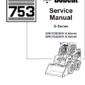 Bobcat 753 G-Series Skid-Steer Loader Manual