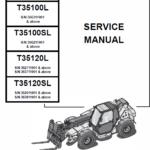 Bobcat T35100, T35100S, T35100L, T35100SL, T35120L, T35120SL Telescopic Service manual