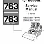 Bobcat 763 G-Series manual