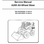 Bobcat A300 Steer Skid-Steer Loader Service Manual