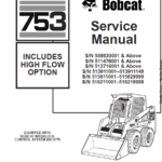 Bobcat 753 Skid-Steer Loader manual