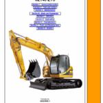 JCB JZ140 Tracked Excavator Service Manual