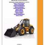 JCB 411, 413S, 417 Wheeled Loader Shovel Service Manual