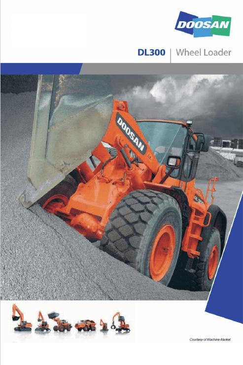 Doosan Daewoo DL300 Wheeled Loader Service Manual