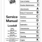JCB 520-50, 525-50 Loadall Service Manual