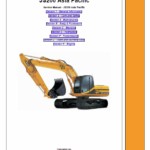JCB JS200, JS210 and JS220 Excavator Asia Pacific Service Manual