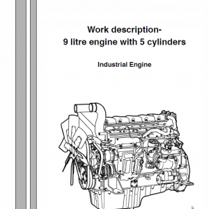 Scania 9-litre 5 Cylinder Engine Workshop Service Manual