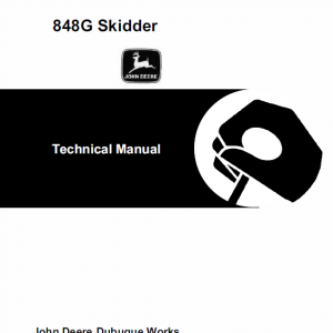 John Deere 848G Skidder Service Manual TM-1898