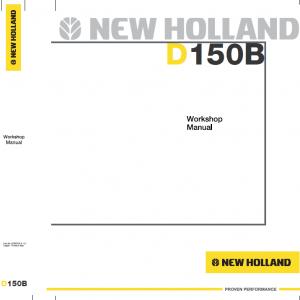 New Holland D150B Bulldozer Dozer Service Manual