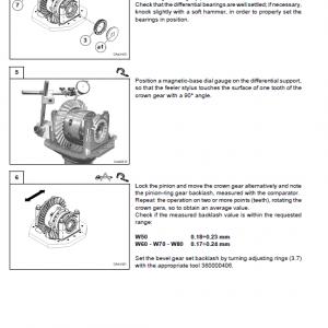 New Holland W50 Wheeled Loader Service Manual