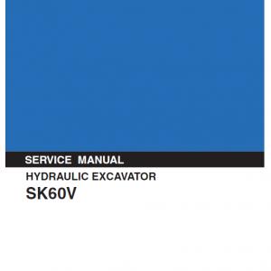 Kobelco SK60V Excavator Service Manual