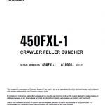 Komatsu 450FXL-1 Feller Buncher Service Manual