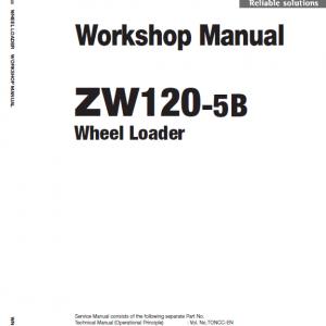 Hitachi ZW120-5B Wheel Loader Service Manual