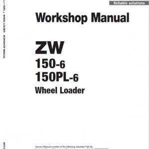 Hitachi ZW150-6 Wheel Loader Service Manual