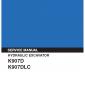 Kobelco K907D and K907DLC Excavator Service Manual