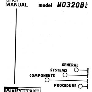 Kobelco MD320BLC Excavator Service Manual