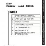 Kobelco SK350-9 Excavator Service Manual