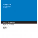 Kobelco SK350-9 Tier 4 Excavator Service Manual