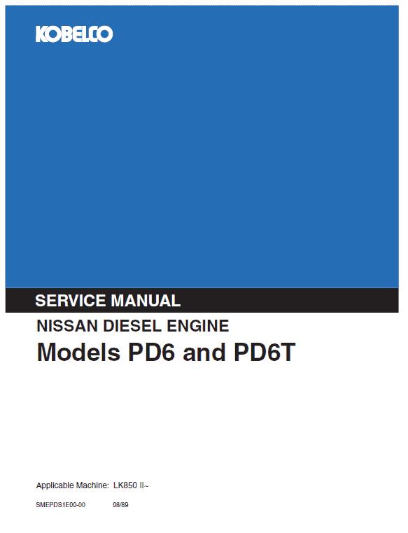 Nissan NE6T Engine Workshop Service Manual