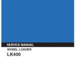 Kobelco LK400 Wheel Loader Service Manual
