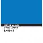 Kobelco LK550 II Wheel Loader Service Manual