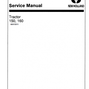 Ford Versatile 150 and 160 Tractor Service Manual